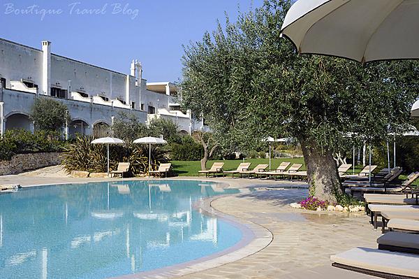 5 star luxury at Borgobianco Resort & Spa, Puglia
