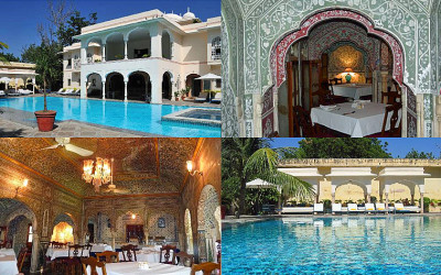 Samode Haveli, a peaceful oasis in the heart of old town Jaipur