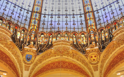 Galeries Lafayette, not just a department store but a work of art!