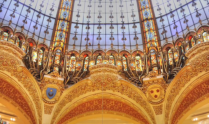 Galaries Lafayette dome