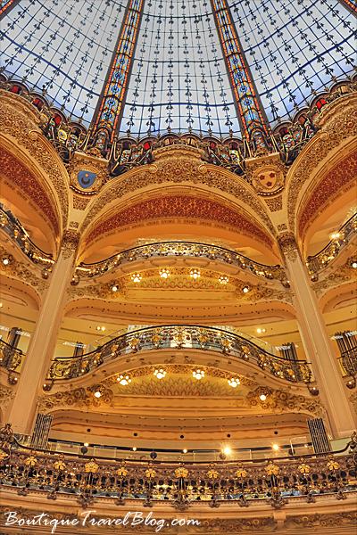Galeries Lafayette balconies