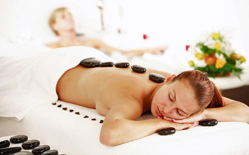Hot stone massage, Avalon Wellness Cruise