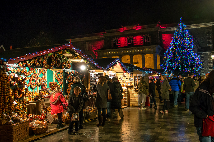 Salisbury Christmas market, things to do in Wiltshire in Winter