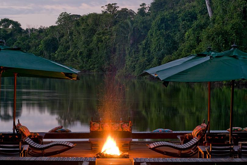 Cristalino Jungle Lodge - Floating Deck