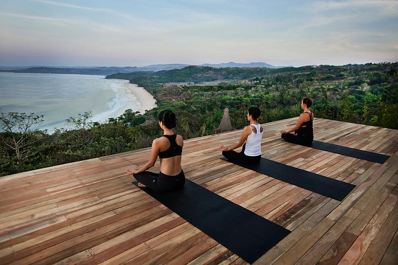 Yoga at Nitiwatu's Eco Lodges on the Untouched Indonesian Island of Sumba