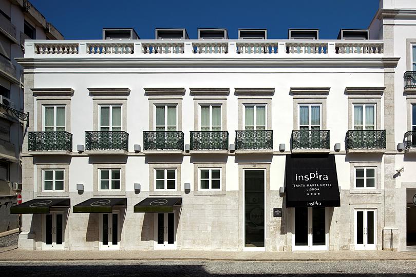 Inspira Santa Marta, eco-chic hotel Lisbon city centre
