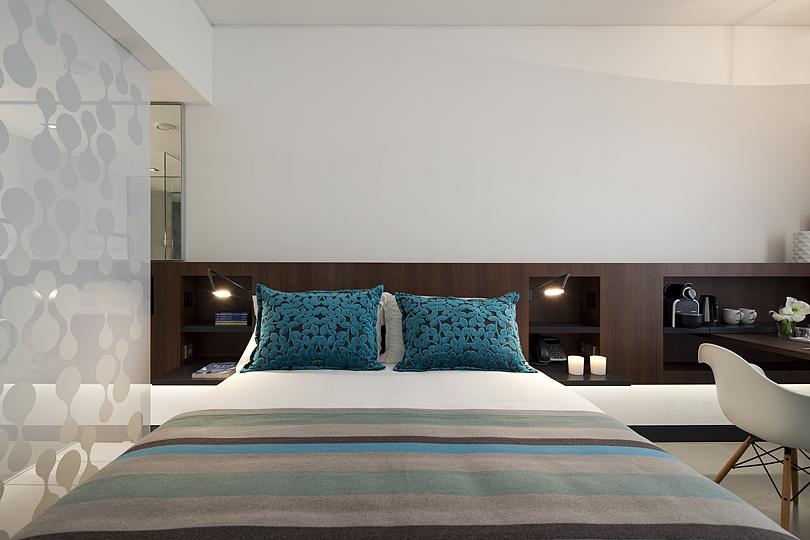 Eco-Chich hotel, Lisbon city centre, Inspira Santa Marta hotel room