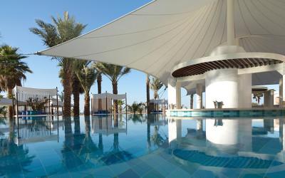 The elegant Ritz-Carlton on Jumeirah Beach, Dubai