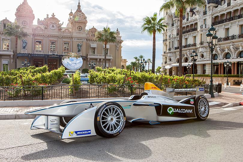 Formula E in Monaco