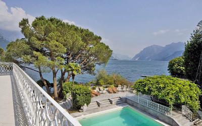 Beautiful holiday villa on the shores of Lake Como
