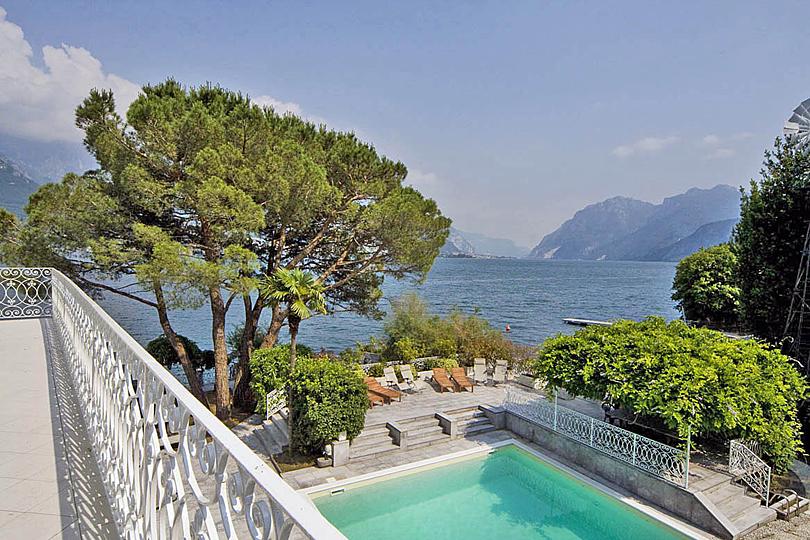 Dama Lago pool, Lake Como, Italy