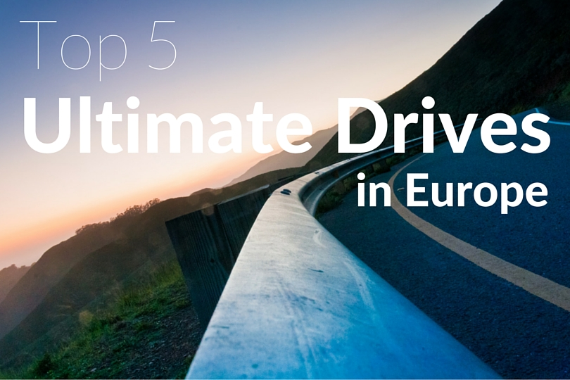 best drives in Europe
