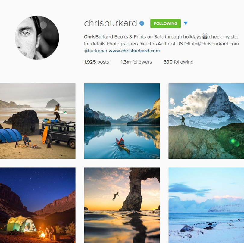 Chris Burkard on Instagram