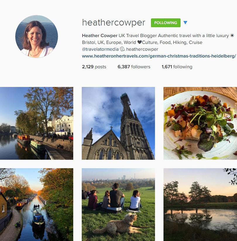 Heather Cowper on Instagram