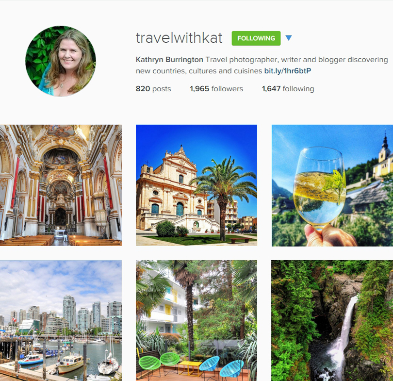 Travel With Kat on Instagram