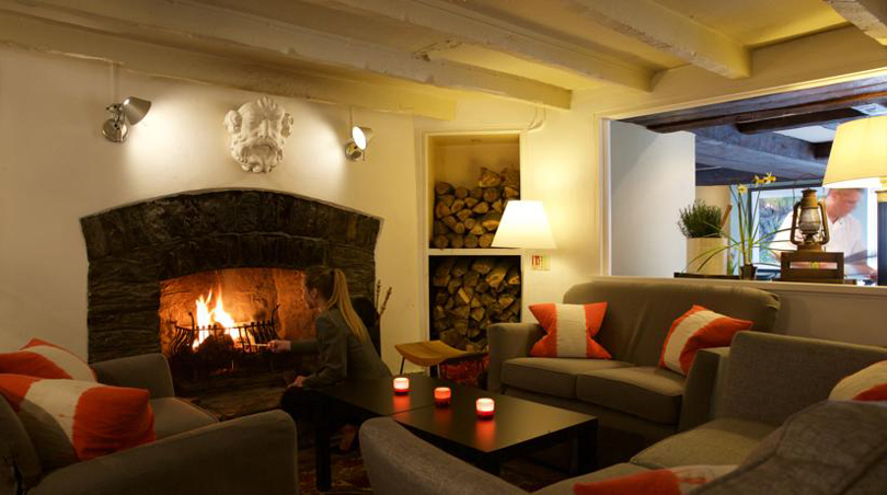 The Lugger Hotel Review - Cornwall, England