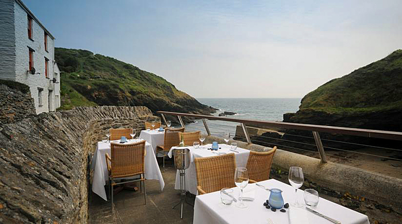 The Lugger Hotel, Cornwall