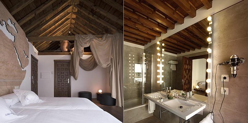 Review -historic, boutique hotel in Granada, Andalucia, Spain: Gar Anat Hotel Boutique