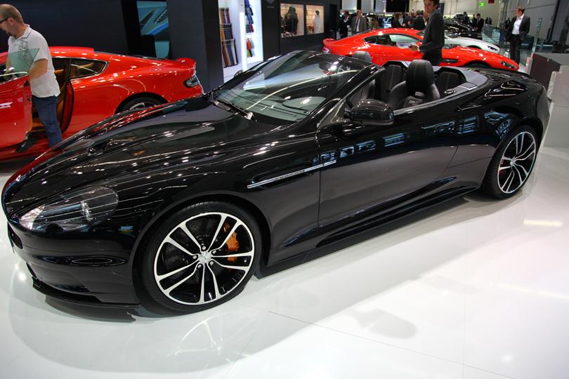 DBS Volante Aston Martin - Luxury car hire