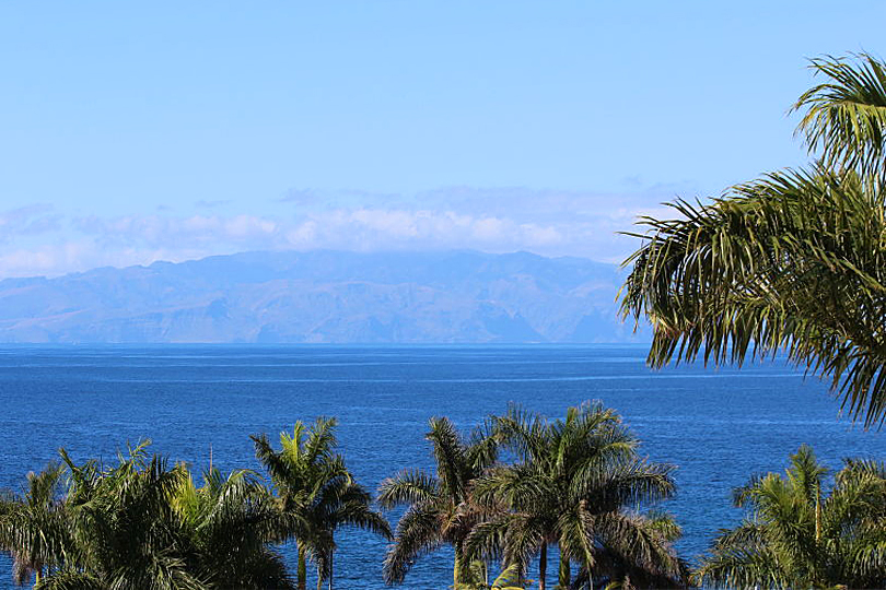 View from the Red Level of La Gomera