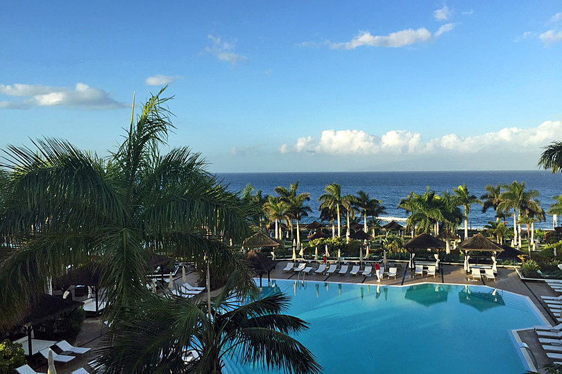 View from the Red Level - boutique hotel Tenerife