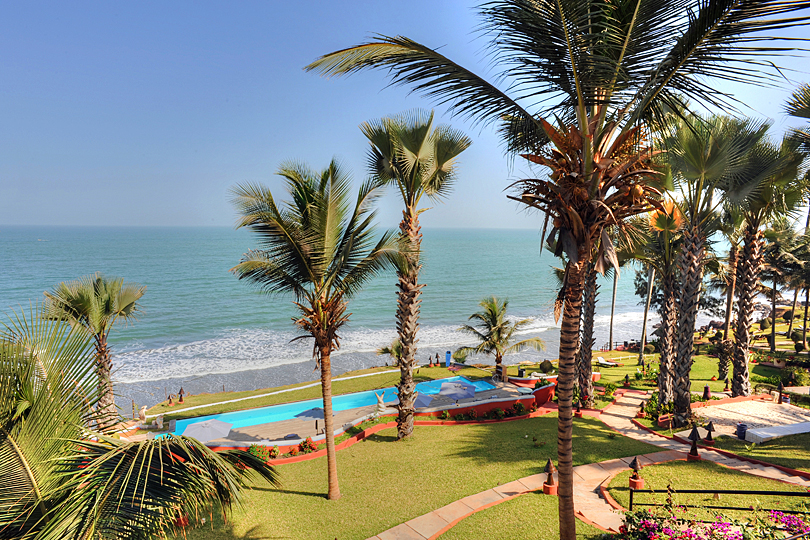 View from the Macondo Suites, Ngala Lodge, The Gambia, West Africa