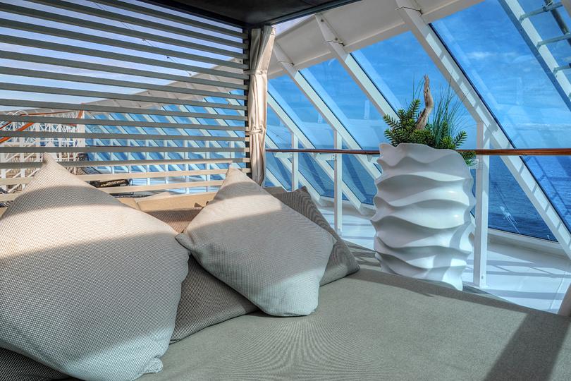The Sanctum Terrace on the Azamara Journey