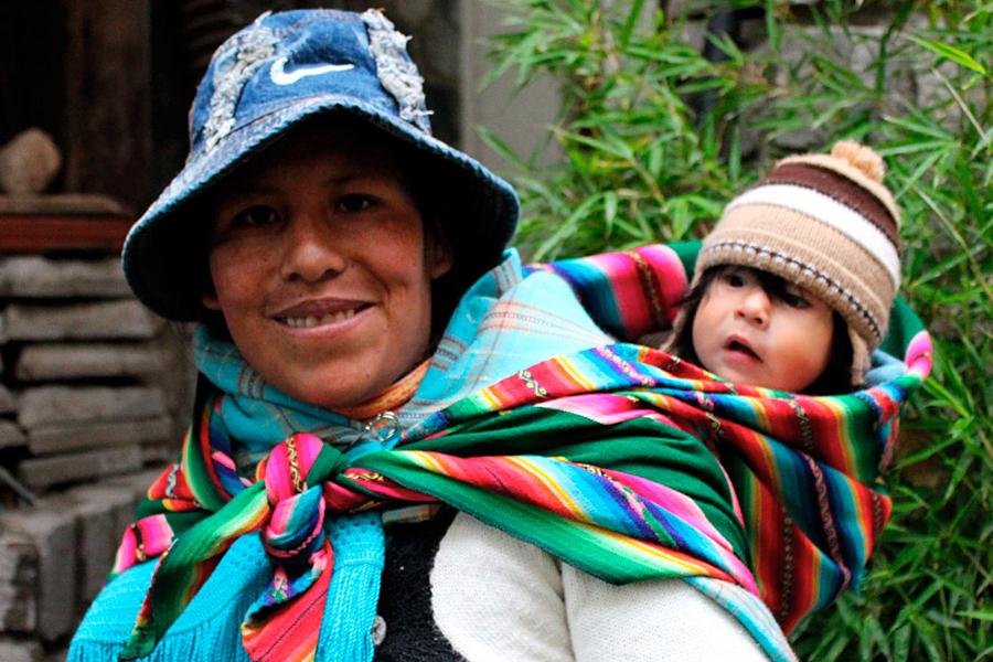 Felisa, a Beyond Beanie artisan from Bolivia