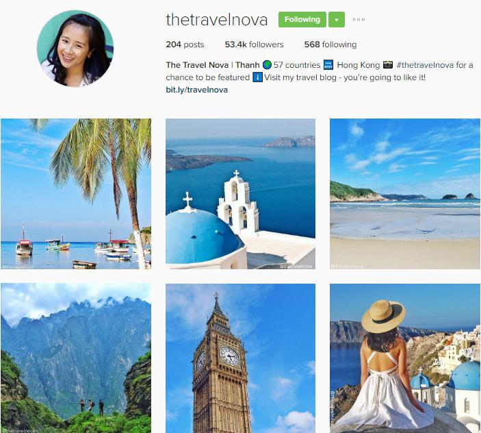 The Travel Nova on Instagram