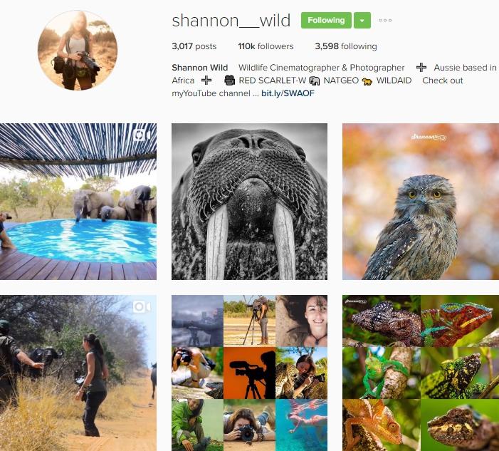 Top 10 travellers on Instagram