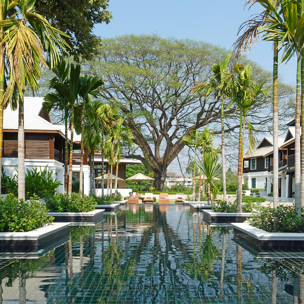 Na nirand a beautiful riverside boutique hotel in chiang mai for River north boutique hotels