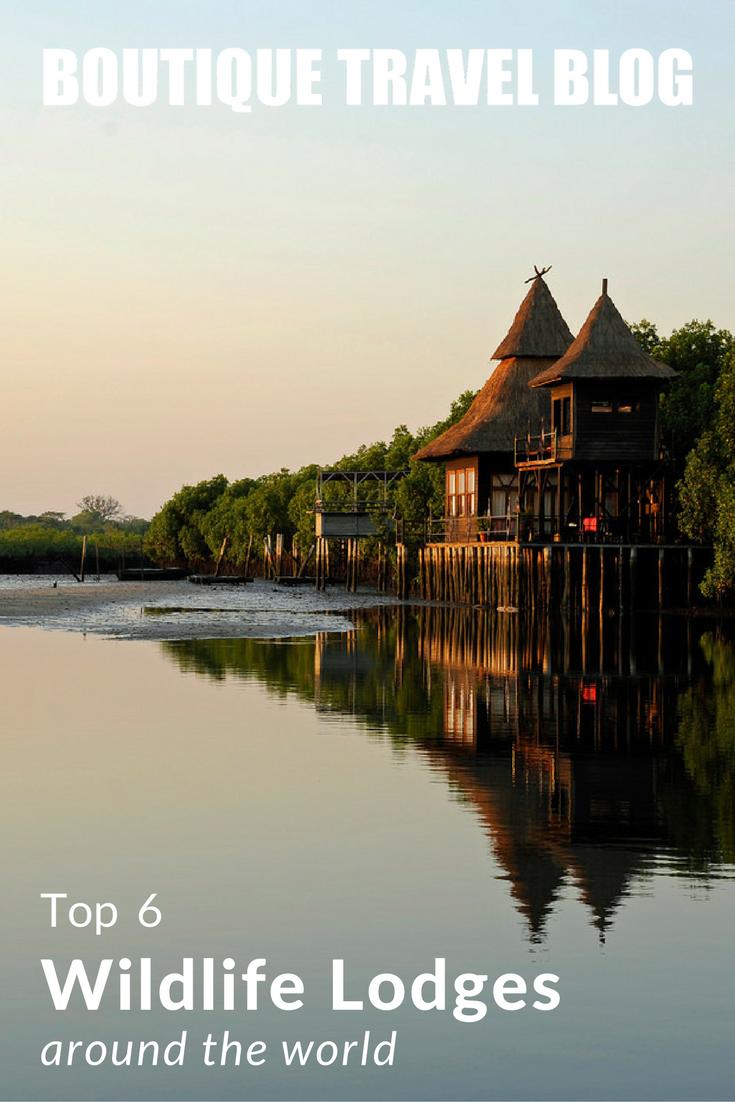 Top 6 Wildlife Lodges around the world