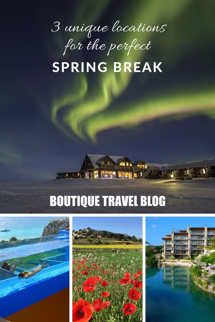 3 unique location for the perfect spring break