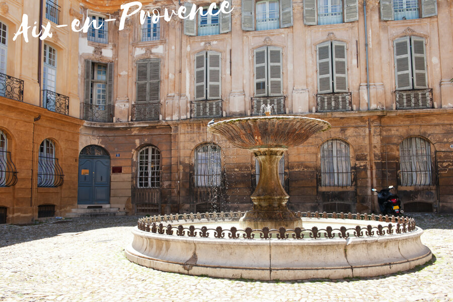 Aix-en-Provence, one of our top 10 places to visit in the south of France