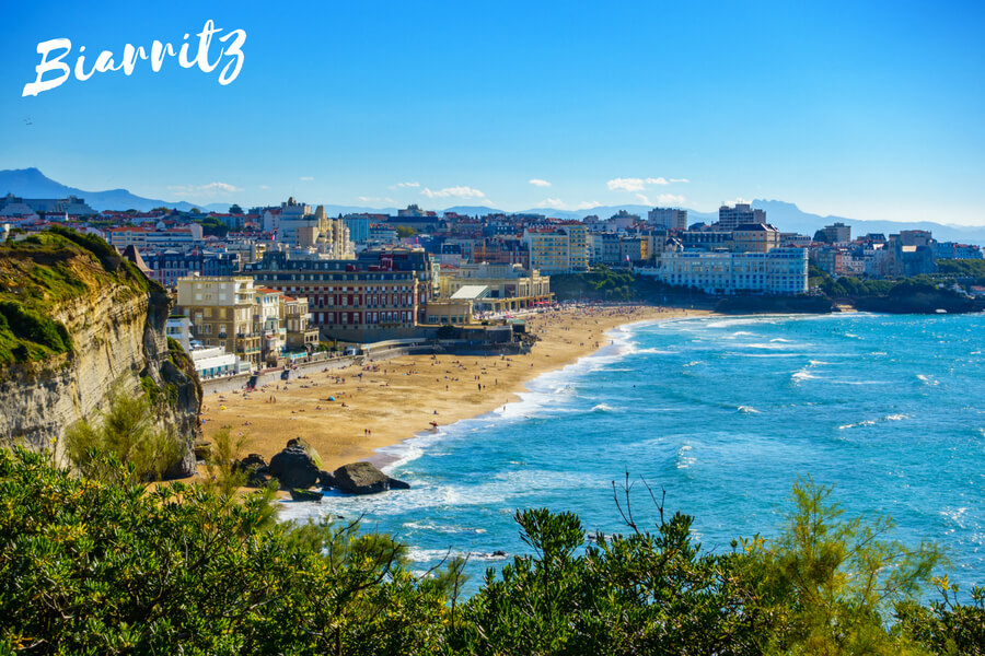 Biarritz, one of our top 10 places to visit in the south of France
