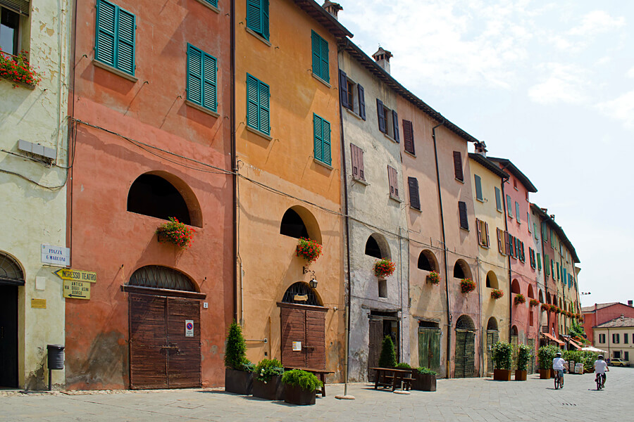 Rather than a Bologna hotel or B&B, our pick are these lovely self-catering apartments