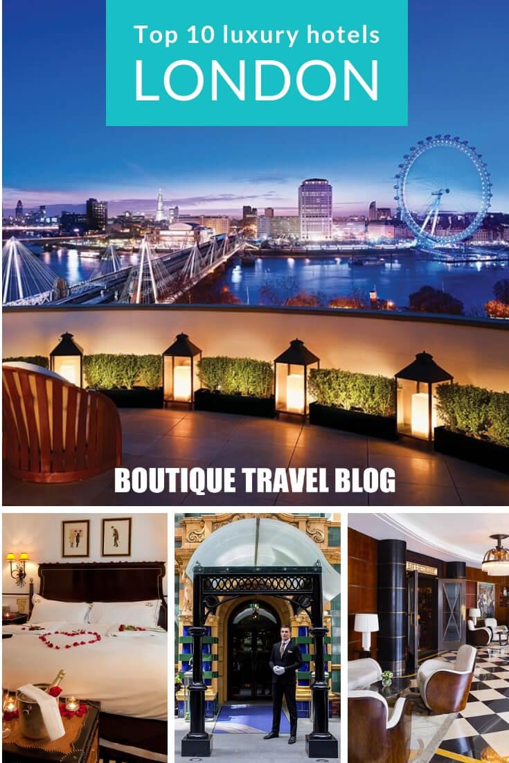 Top 10 luxury hotels in the heart of London #luxurytravel #london
