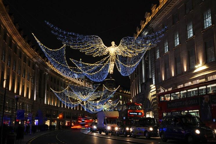 Regent Street at Christmas
