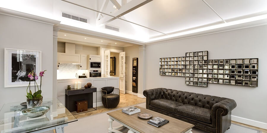 Luxury serviced apartments in London