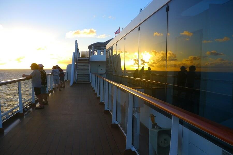 Sunset Viking Sea