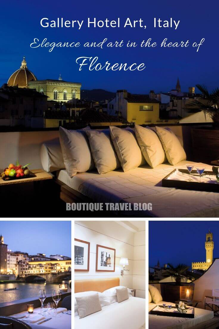 Gallery Hotel Art | Elegance and art in the heart of #Florence #Italy