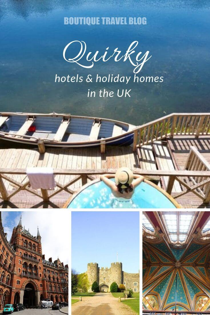 Quirky hotels in the UK, #UK #England #QuirkyHotels