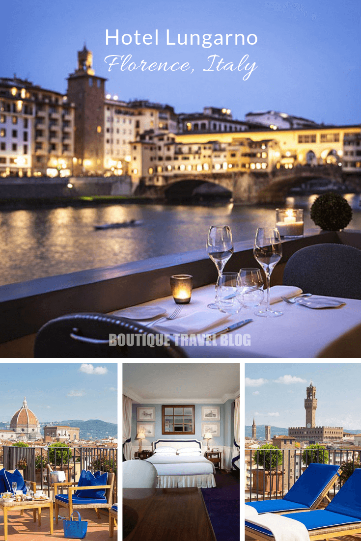 Hotel Lungarno | Riverside luxury with a view of the Ponte Vecchio, #Florence #Italy #HotelReview