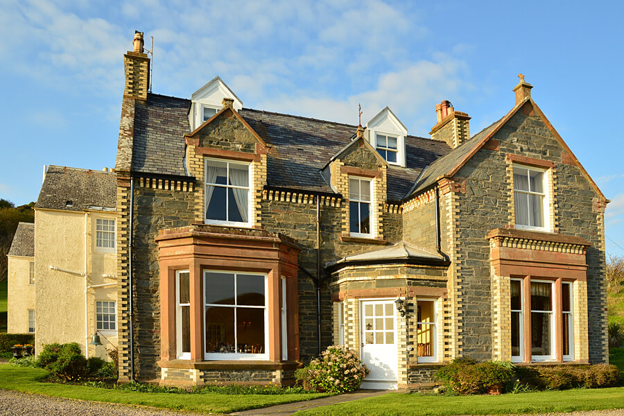 Quirky hotels in the UK | Knockinaam Lodge, Dumfries and Galloway, Scotland