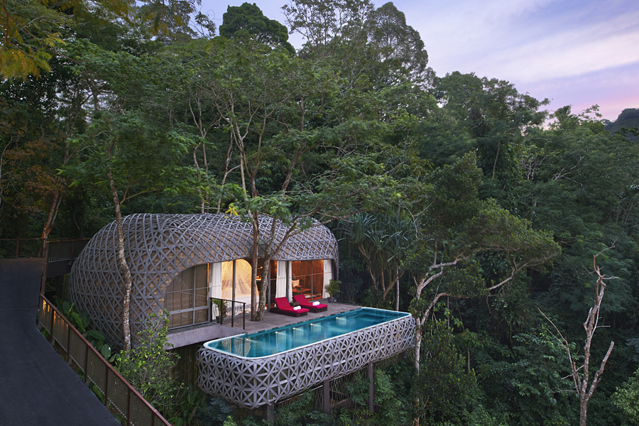 The ecp-friendly resort of Keemala in Phuket, one of our favourite treehouse holidays in the world