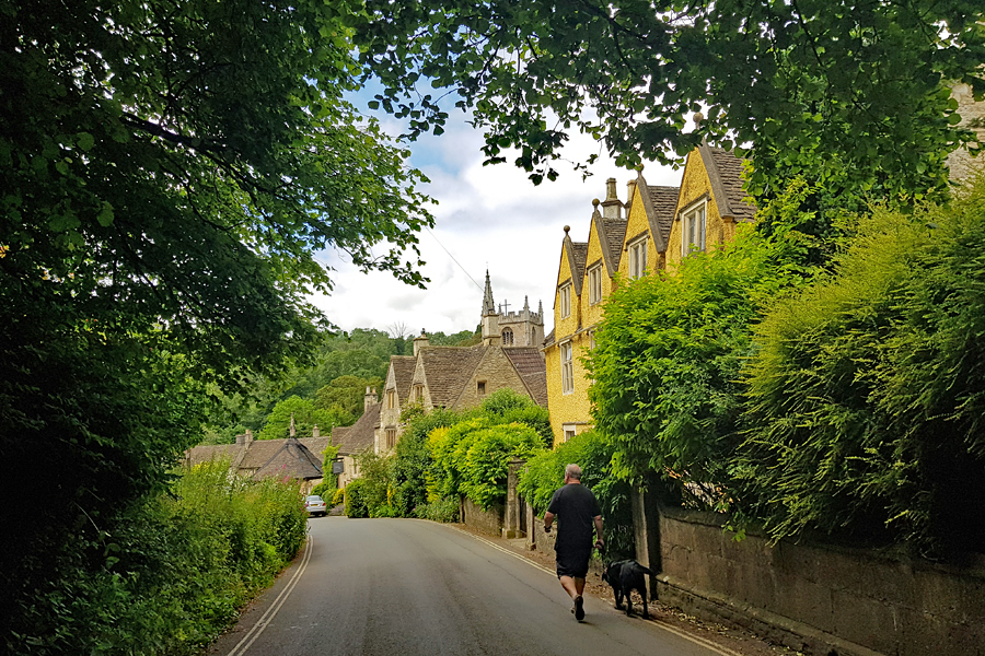 Castle Comb, Wiltshire, one of the prettiest villages along the West Coast Way | UK road trip
